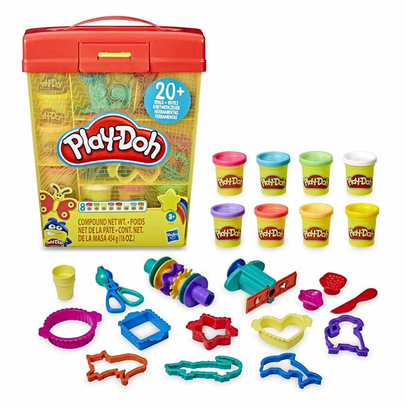 Play-doh super maleta