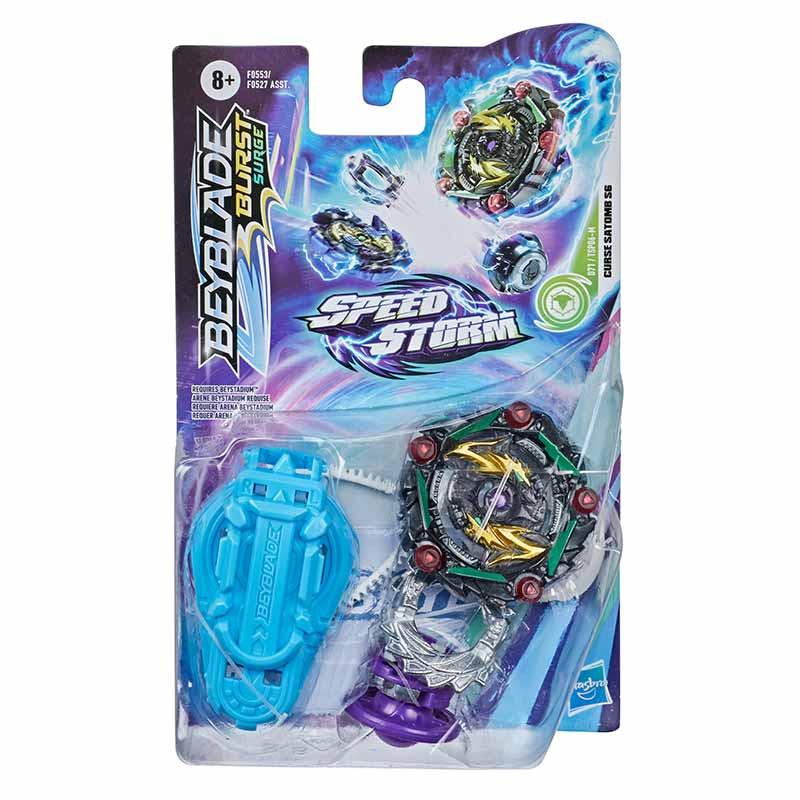 Beyblade Speedtorm pião e lançador
