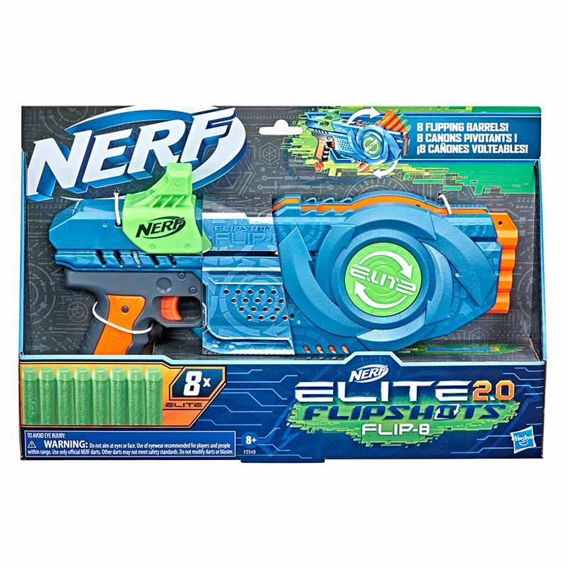 Nerf elite 2.0 flip 8