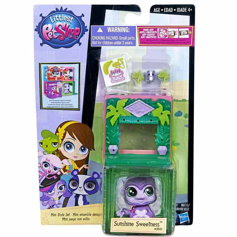 Hasbro Lps Mini Paysets Cubo Temático