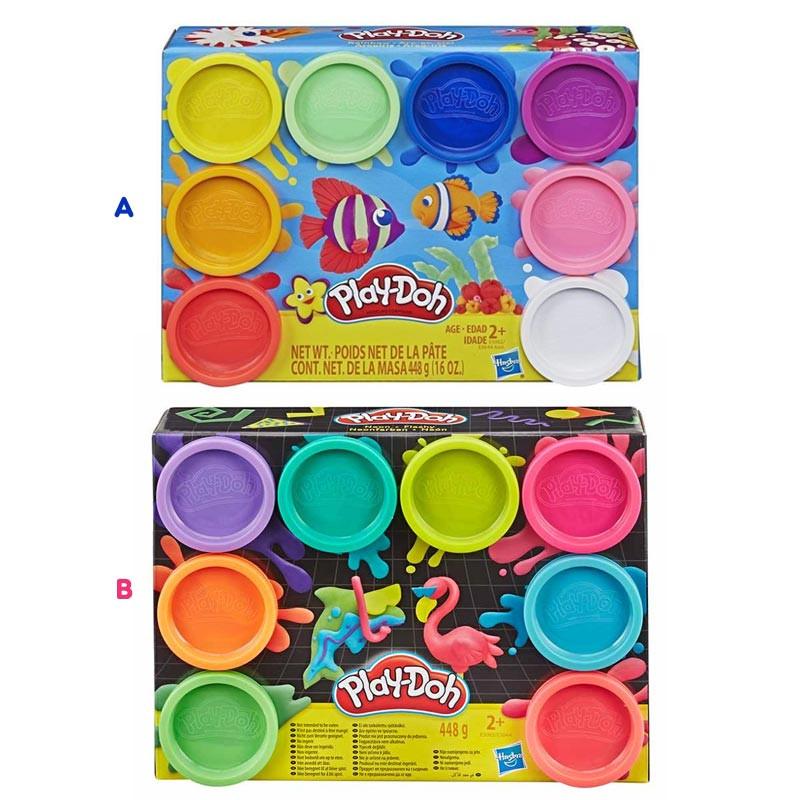 Play-Doh Pack de 8 Frascos Hasbro
