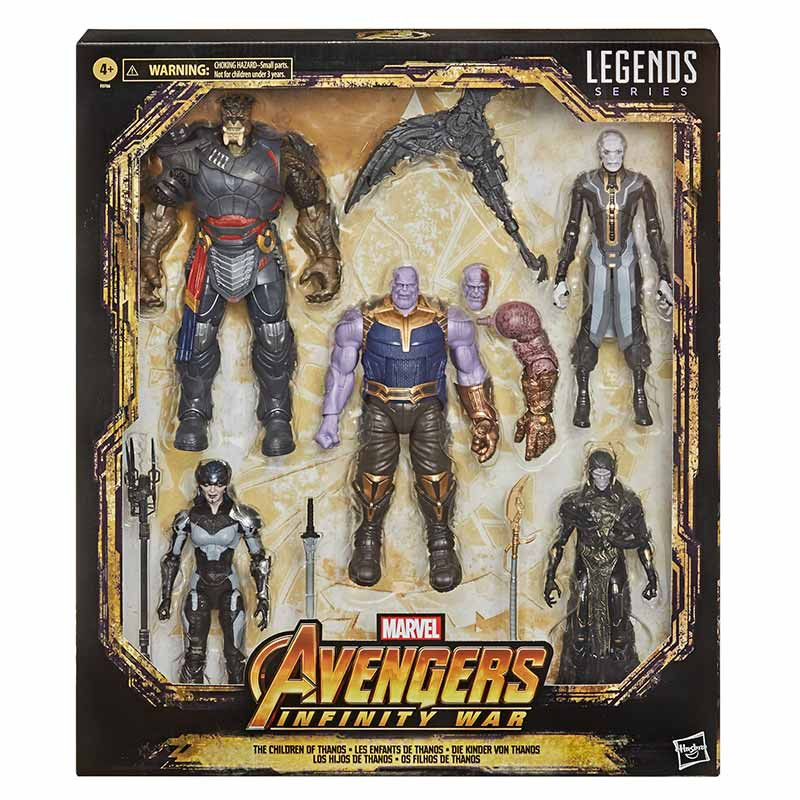 Hasbro Marvel Legends Kit The Children of Thanos