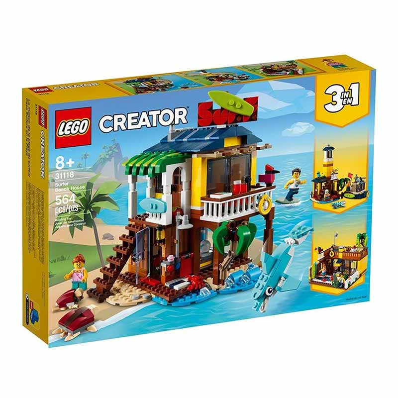 Lego Creator Casa da Praia de Surfista