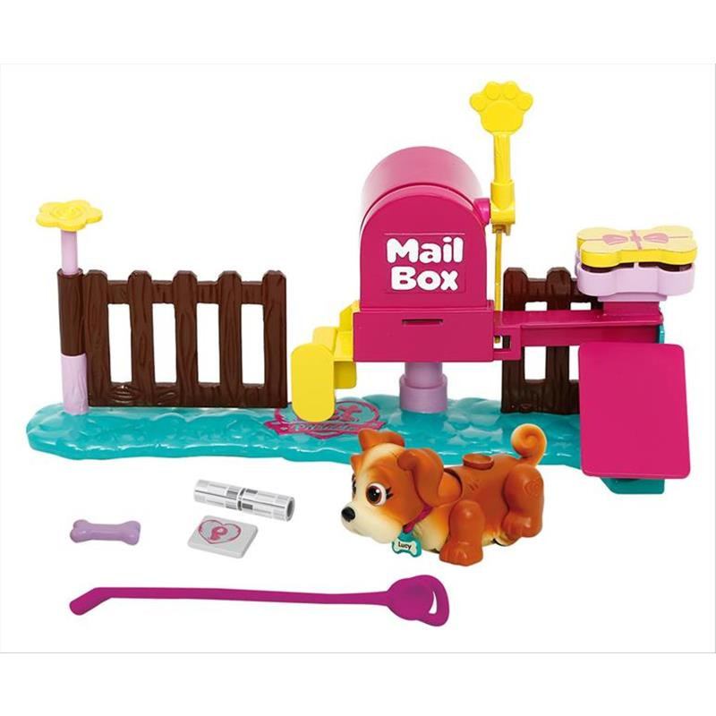 Pet parade mailbox playset