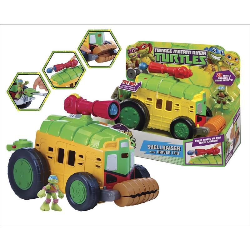 Tartarugas Ninja Hsh Shell Raiser Van