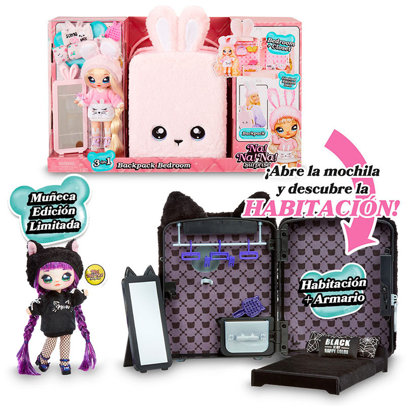 NA! NA! NA! Surprise - Mochila + Boneca Exclusiva