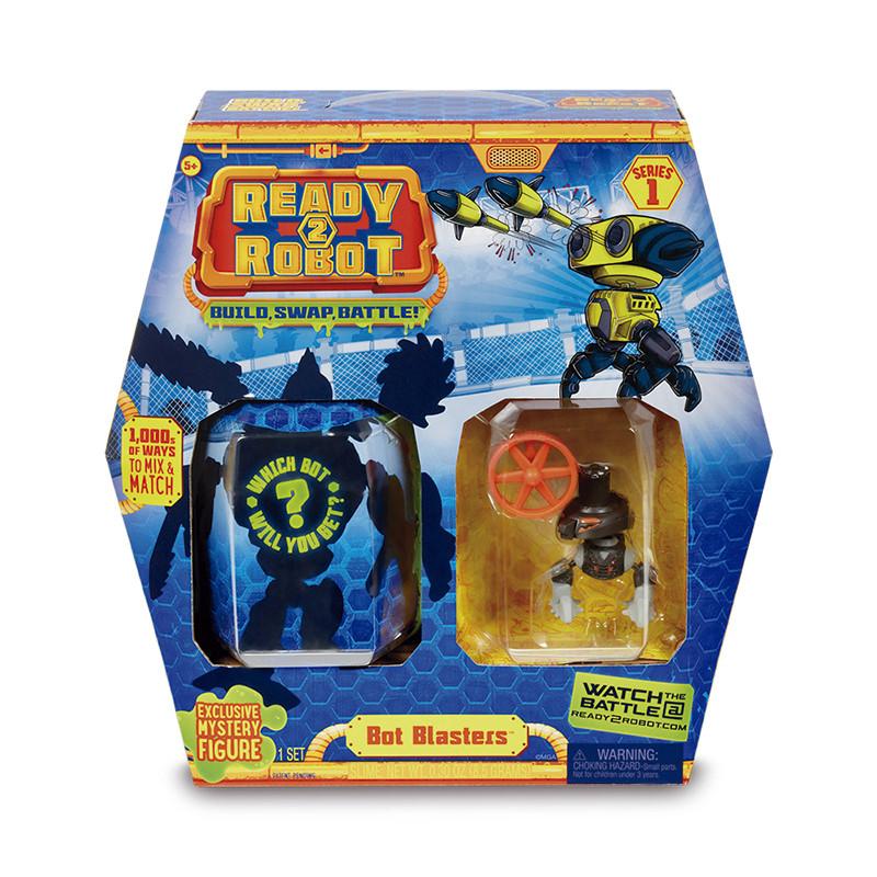 Ready 2 Robot Bot Blaster cinzenta
