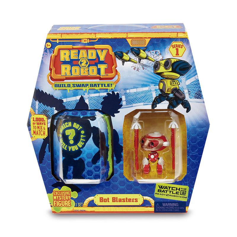 Ready 2 Robot Bot Blaster vermelho