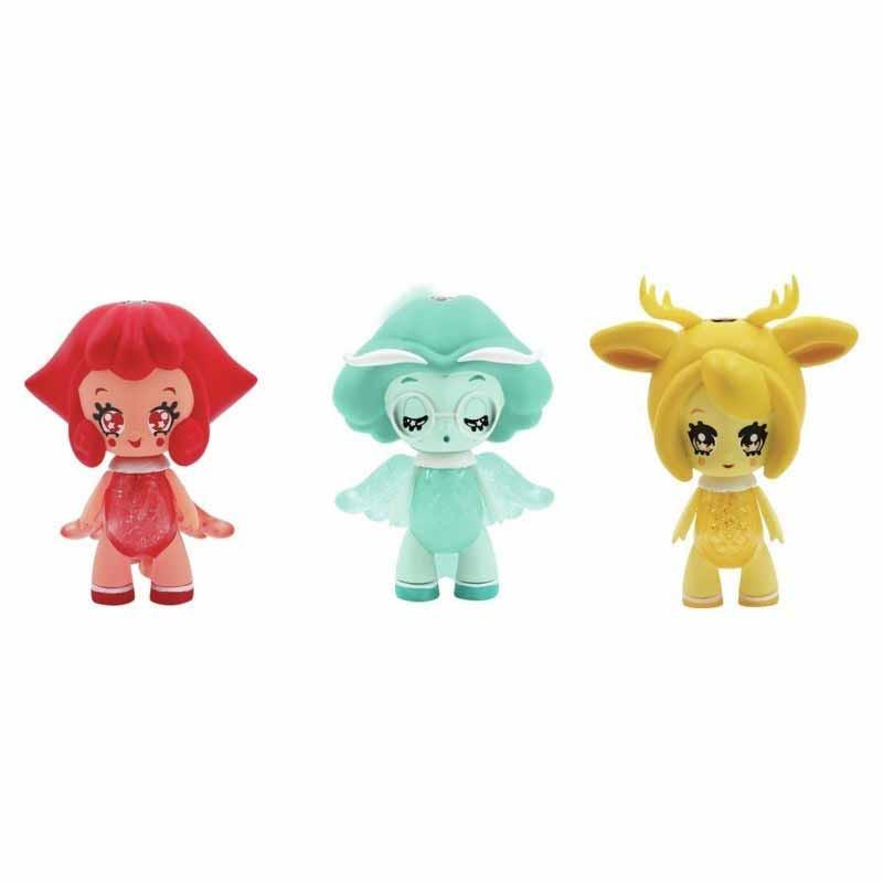 Glimmies mini bonecas 6 centímetros