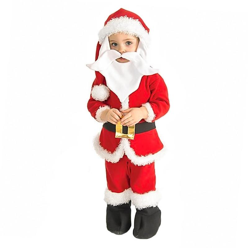 Disfarce Pai Natal bebé