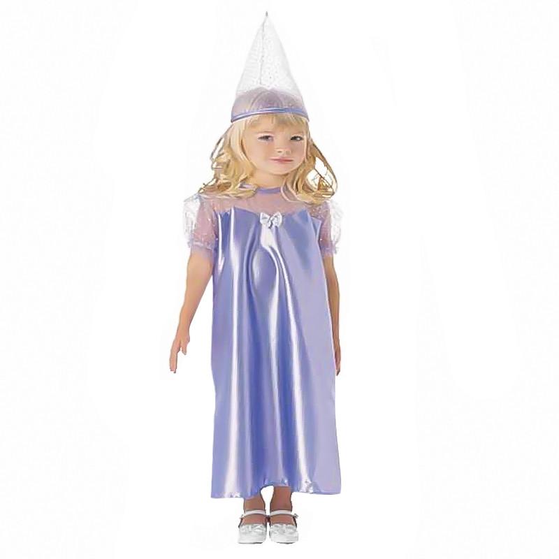 Disfarce Princesa Azul Infantil