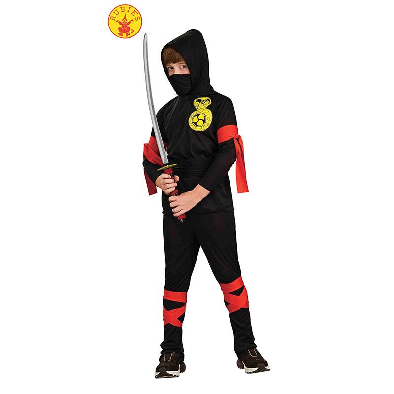 Rubies Ninja Preto Infantil
