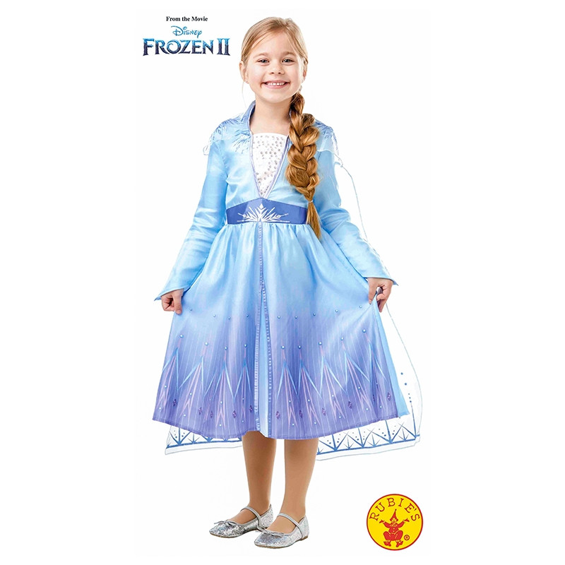 Disfarce ELSA TRAVEL FROZEN2 CLASSIC INF