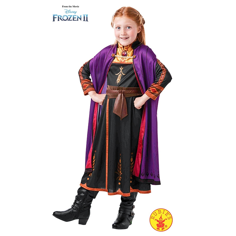 Disfarce ANNA TRAVEL FROZEN2 CLASSIC INF