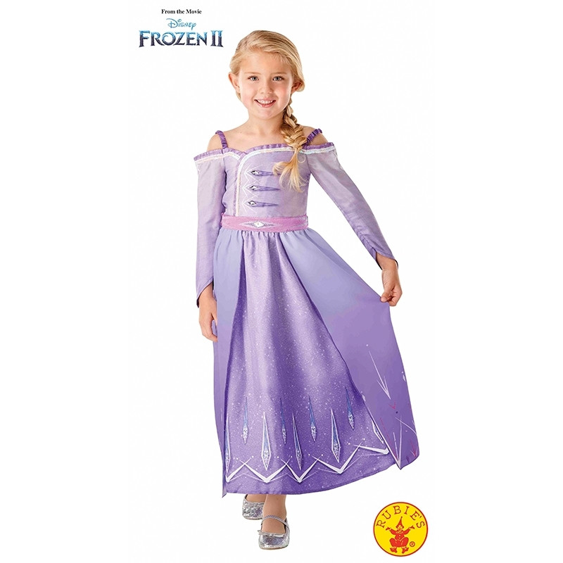 Disfarce Elsa Prologue Frozen 2 Classic Inf