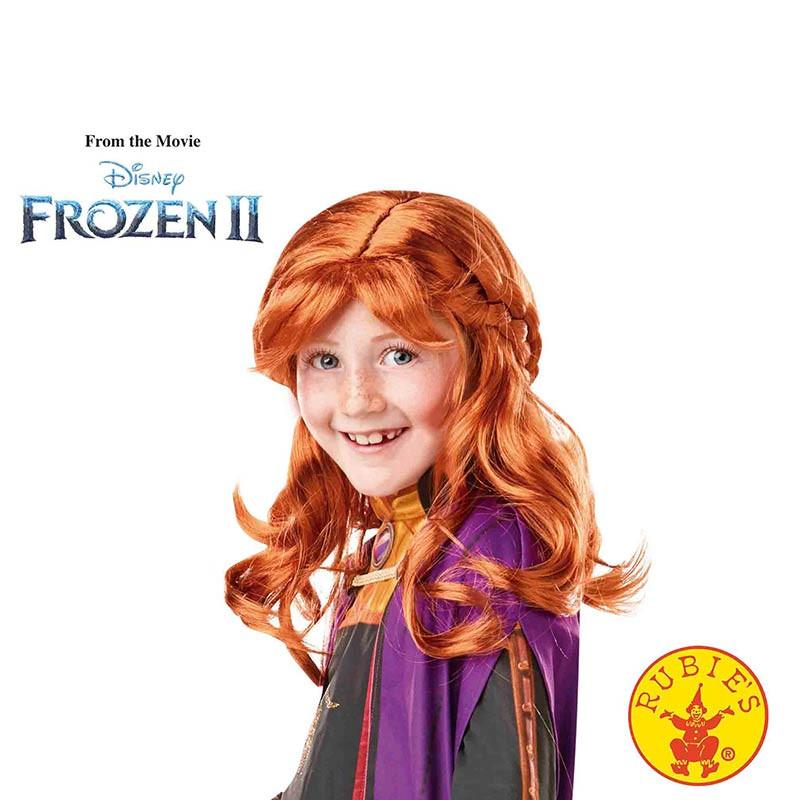 Peruca Anna Frozen 2 INF