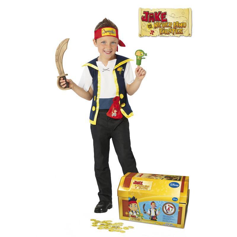 Disfarce pirata Jake com acessórios