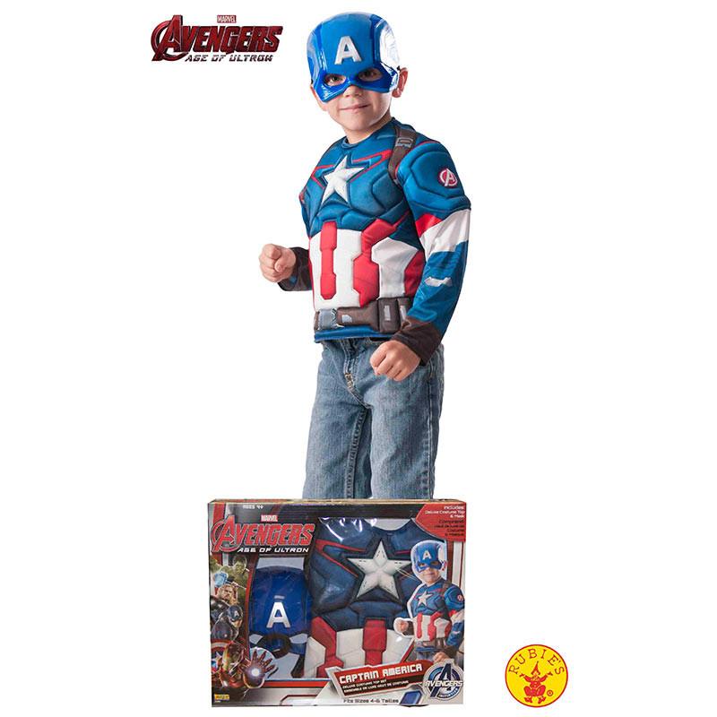Disfarce Capitão América inf