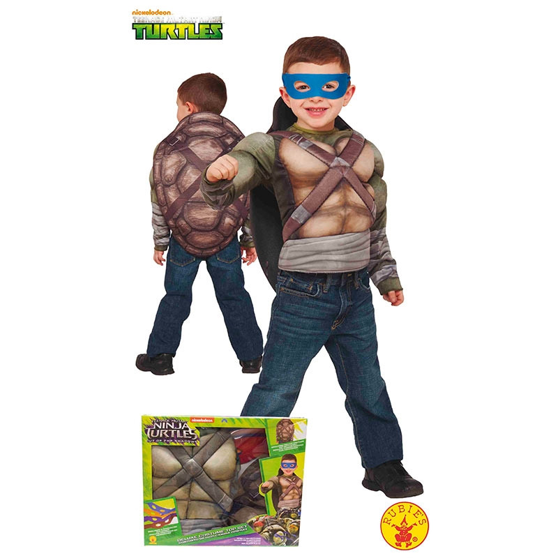 Disfarce Tartarugas Ninja peito musculoso cx inf