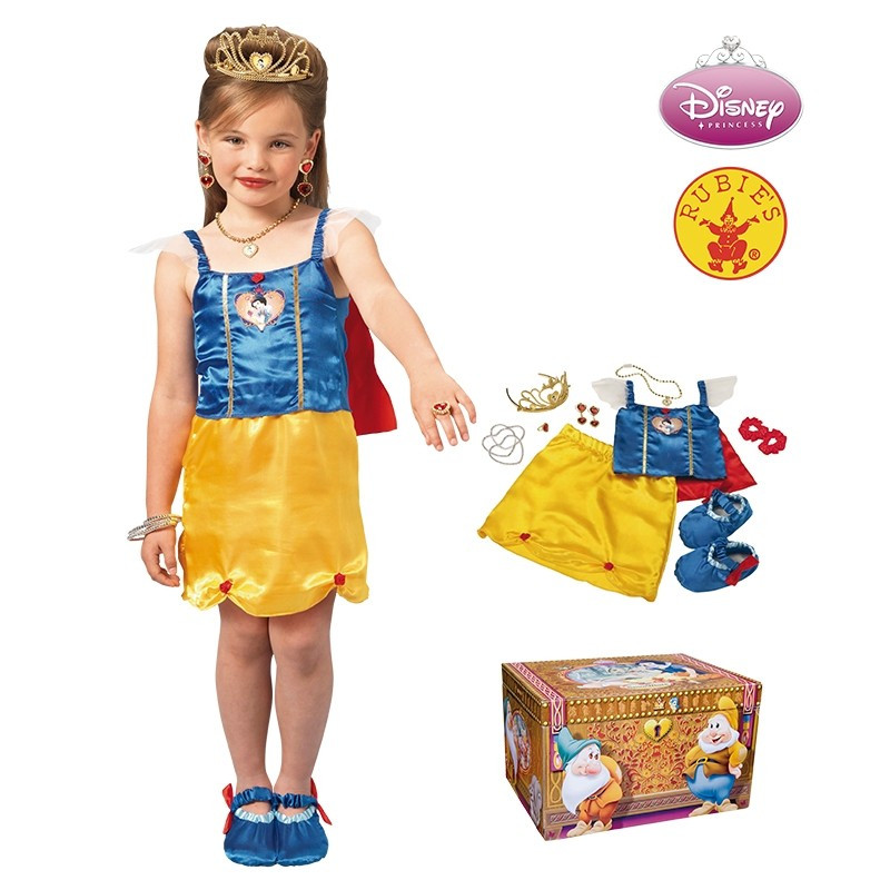 Disfarce Disney Princesa Branca de Neve Infantil