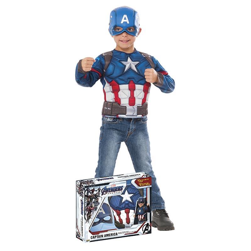 Disfarce Capitão America Endgame Inf