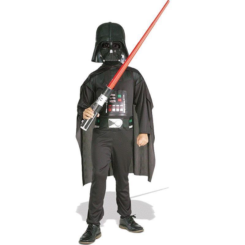 Disfarce Darth Vader com espada infantil