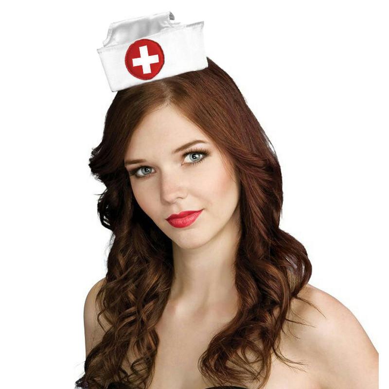 Mini chapéu Enfermeira