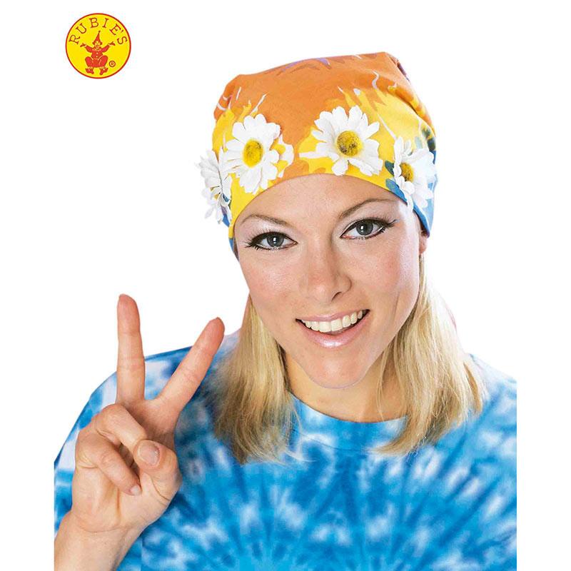 Bandana hippie com flores