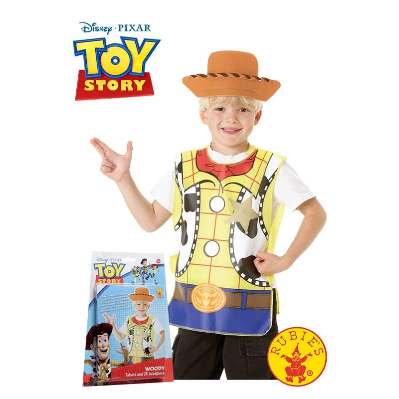 Disfarce Woody Blister Set Infantil