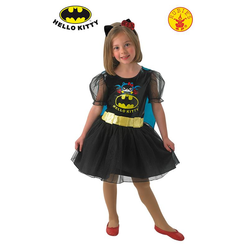 Disfarce Hello Kitty Batgirl Infantil