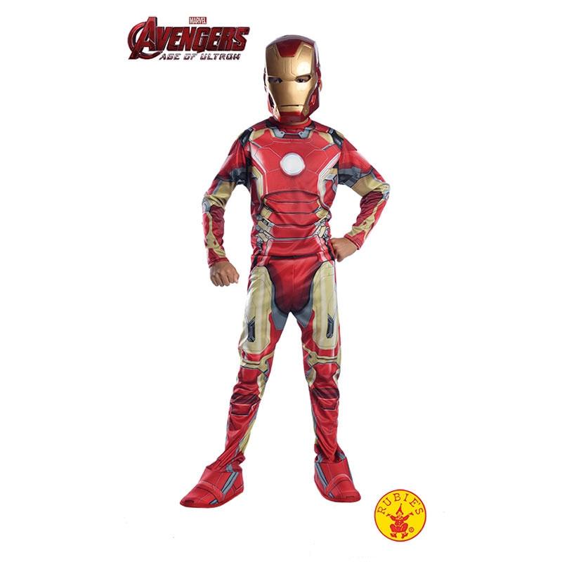 Disfarce Iron Man inf