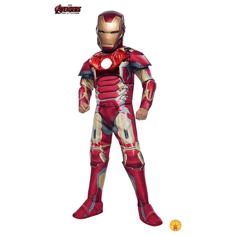 Disfarce Iron Man premium inf