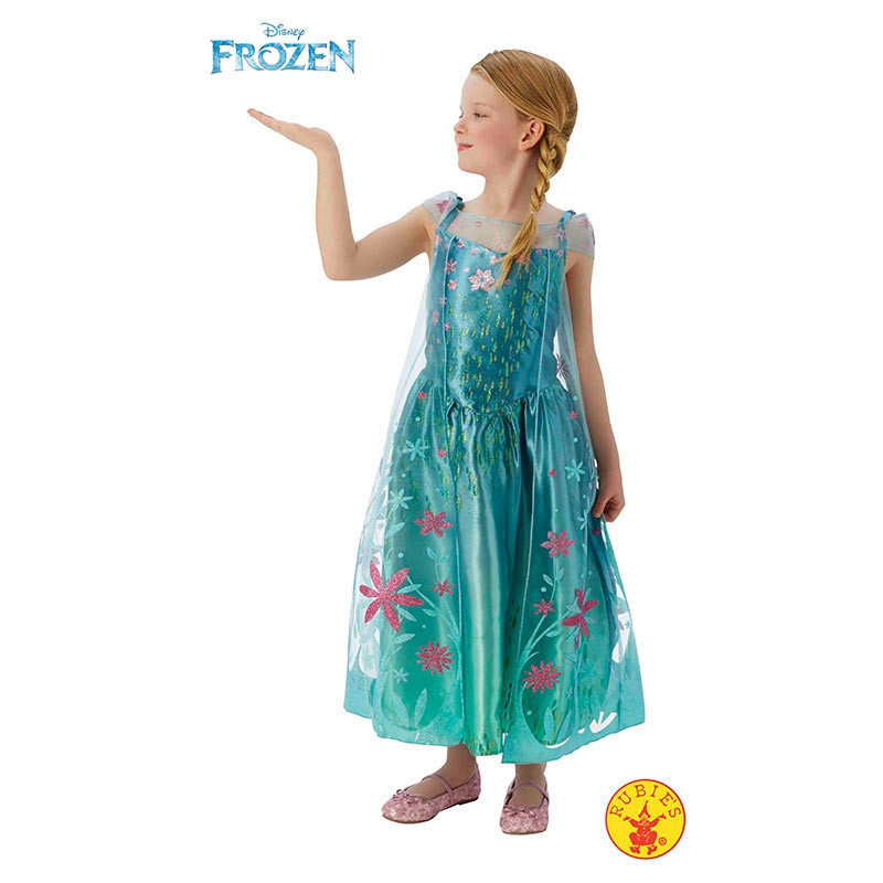 Disfarce Elsa Frozen Fever Deluxe inf