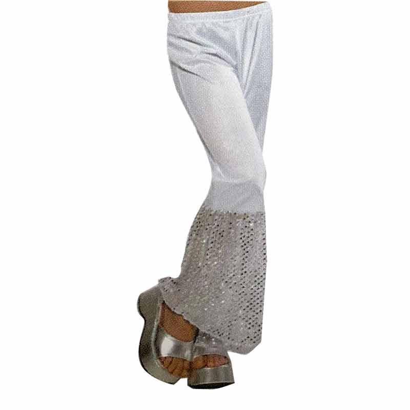 Calças Brancas com lantejoulas
