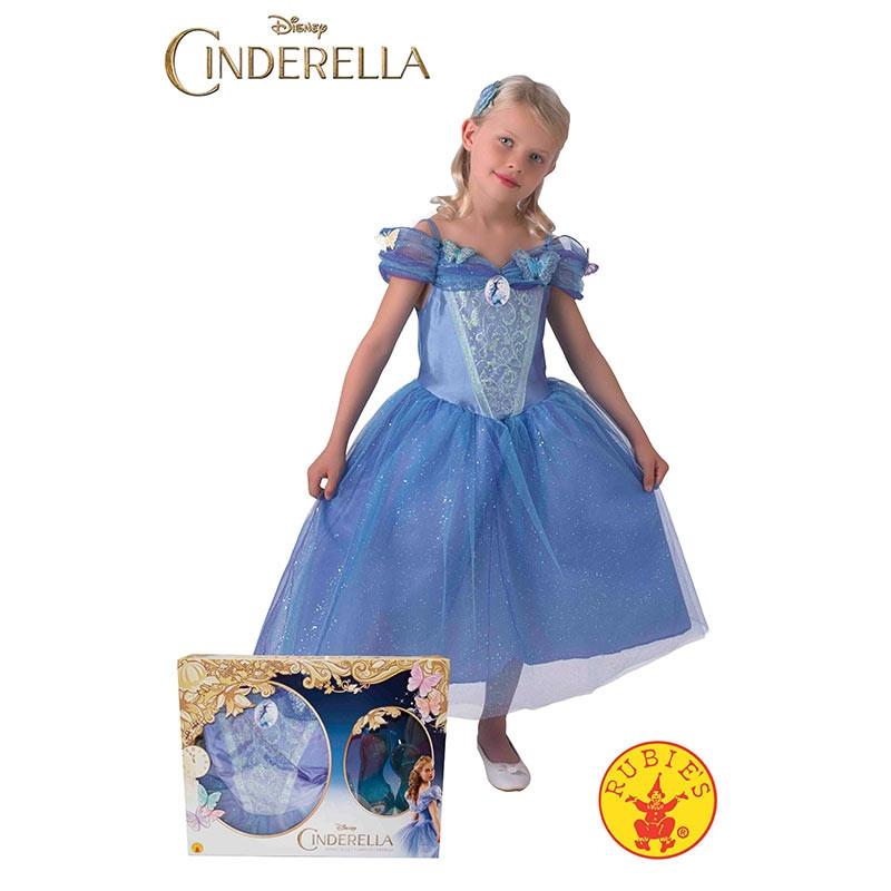 Disfraz Cinderela com sapatos  inf