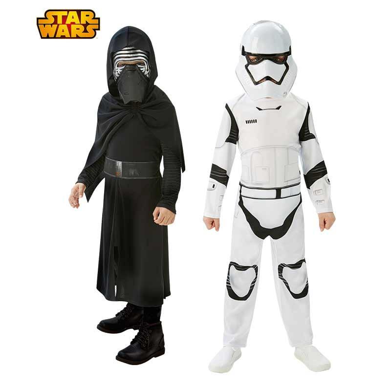 Disfarce Kylo Ren/Stormtrooper Bipack Infantil