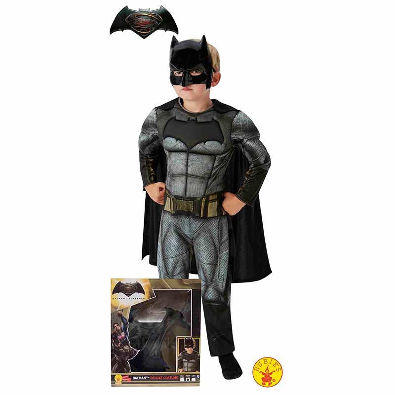 Disfarce Batman musculoso caixa infantil