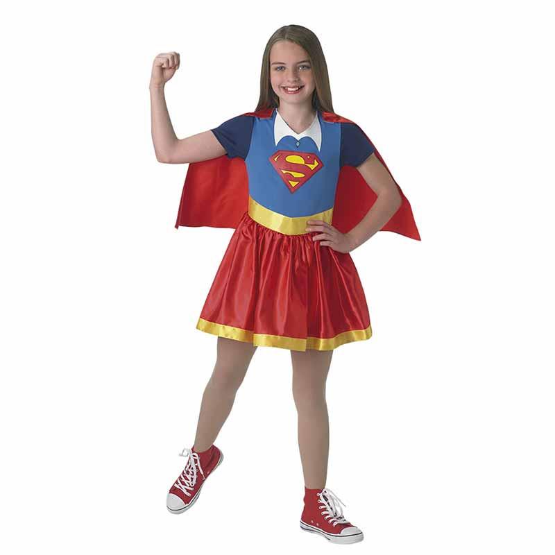 Disfarce Supergirl infantil