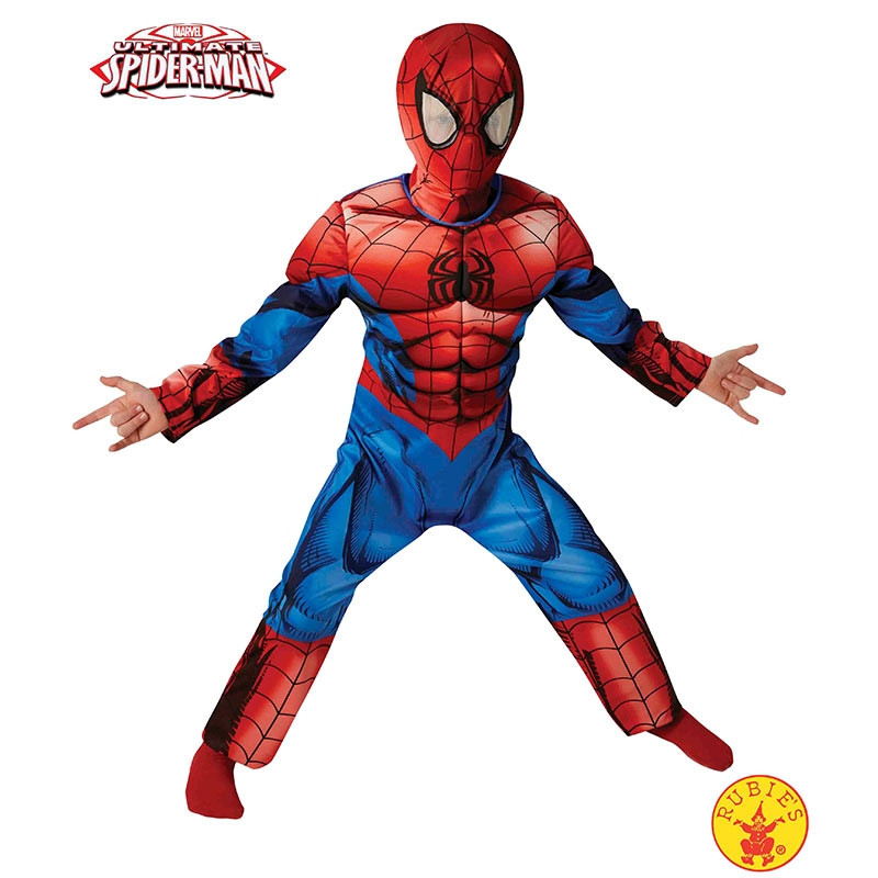 Disfarce Ultimate Spiderman deluxe inf