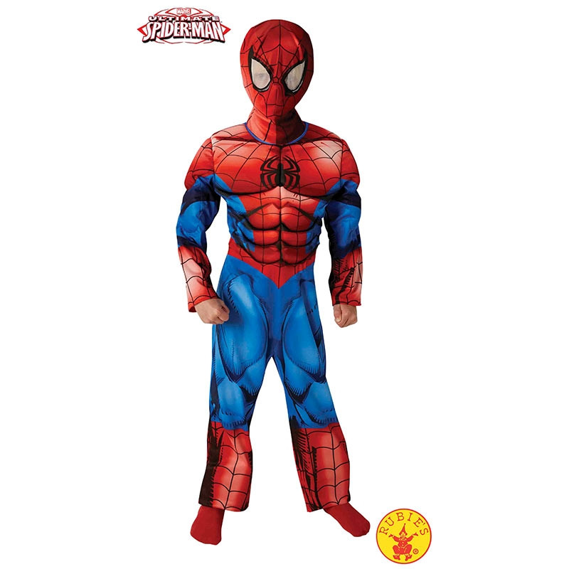 Disfarce Ultimate Spiderman premium inf