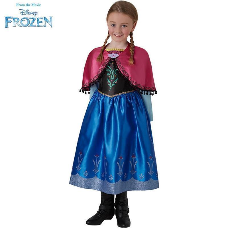 Disfarce Anna Frozen deluxe infantil