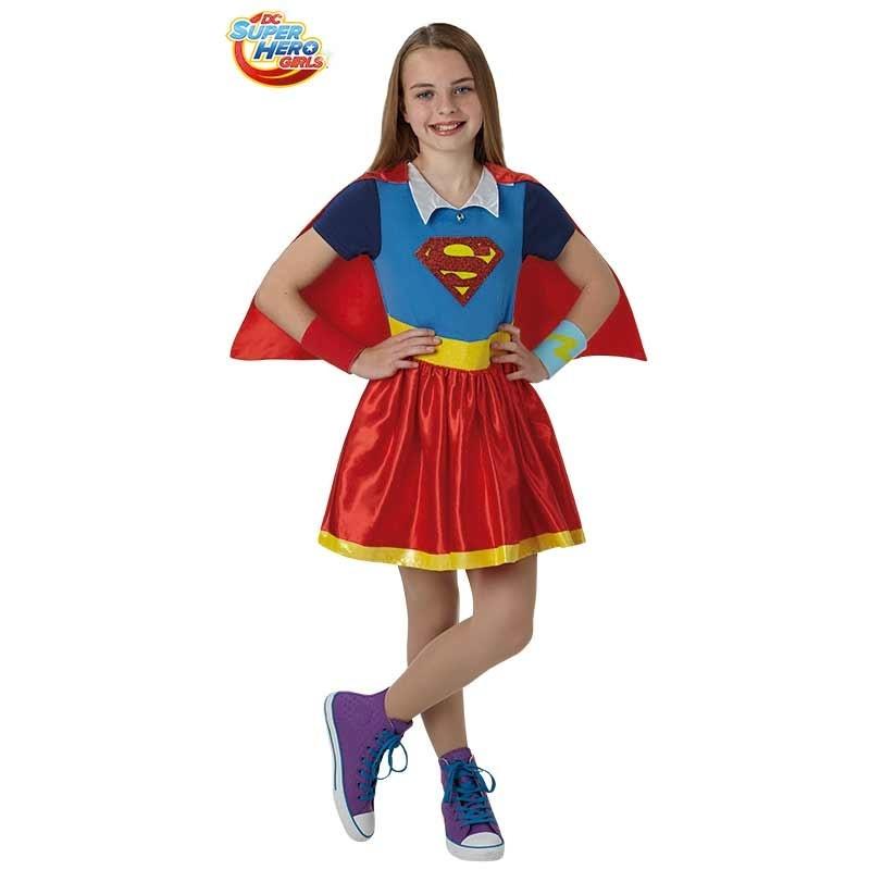 Disfarce Supergirl deluxe infantil
