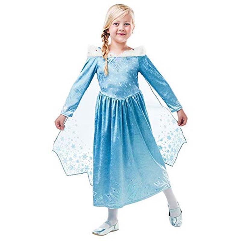 Disfarce Elsa deluxe Frozen Adventure infantil