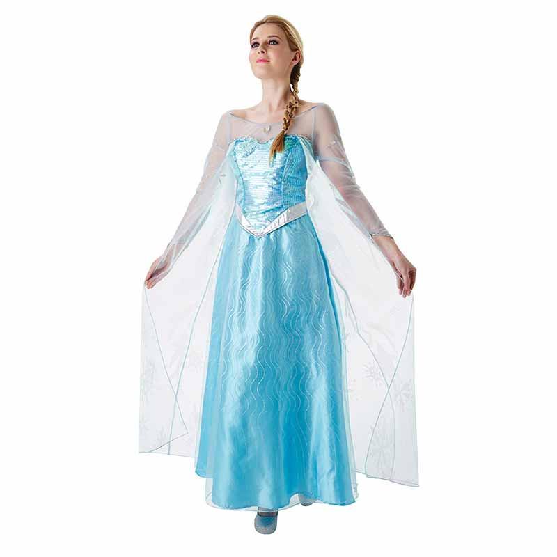 Disfarce Elsa Frozen adulto