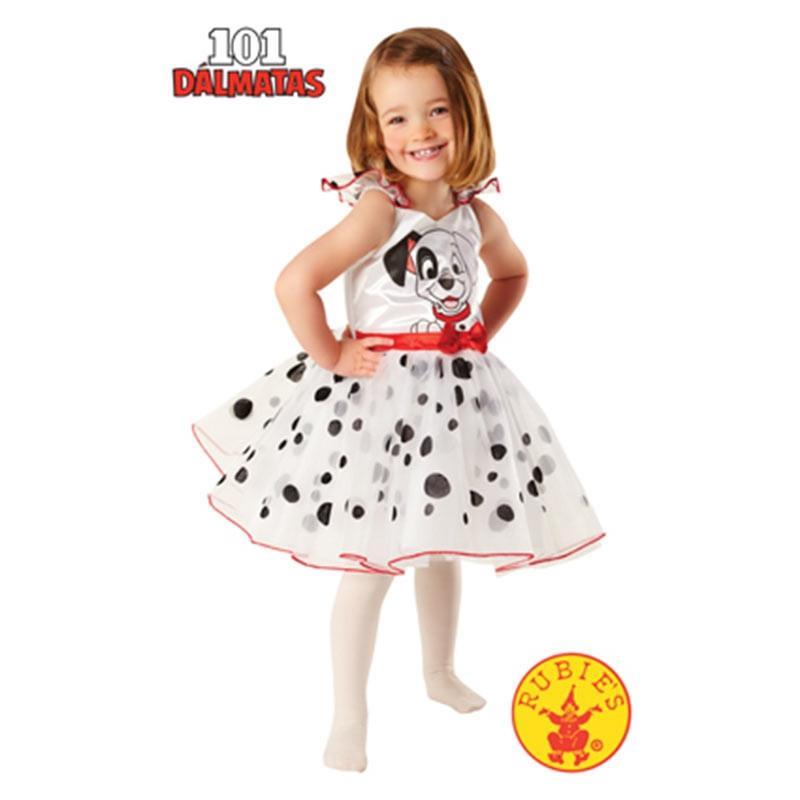 Disfarce 101 Dálmatas bailarina bébé