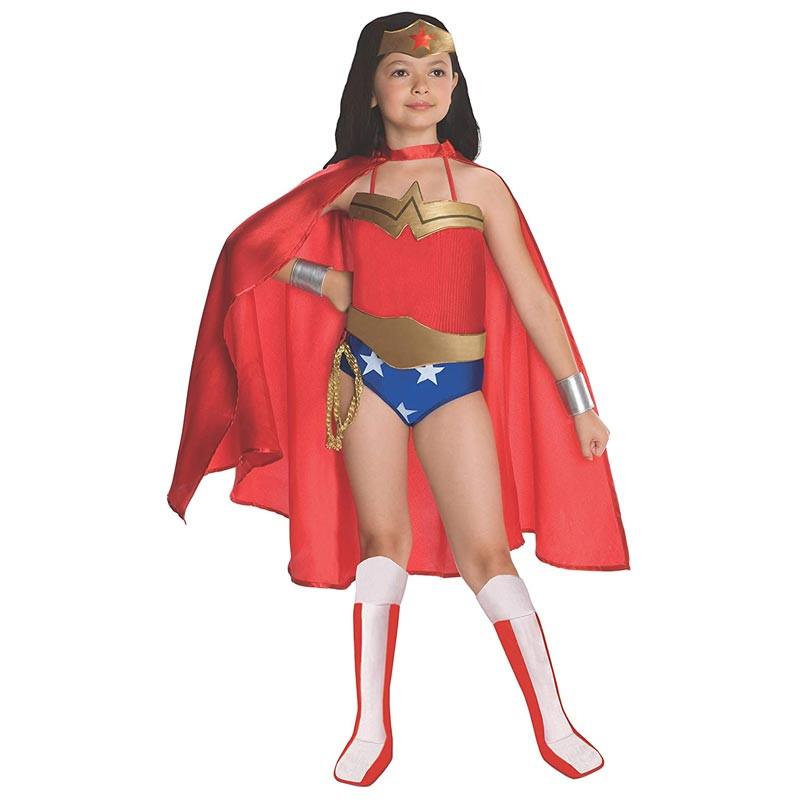 Disfarce Wonder Woman deluxe inf