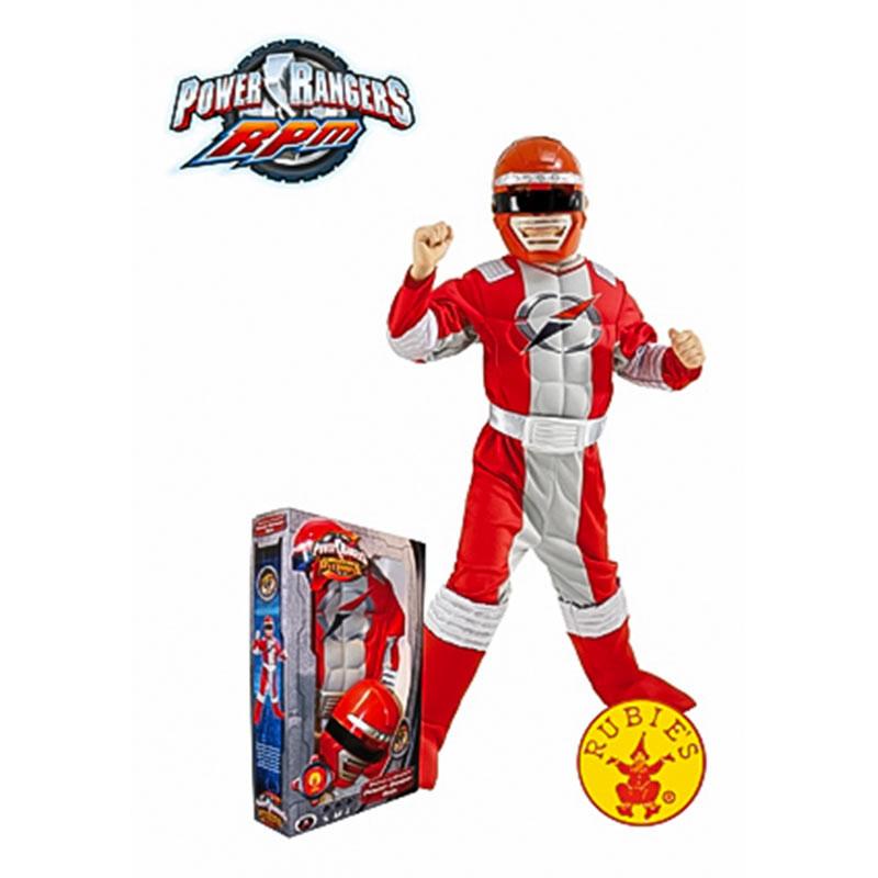Rubies Power Ranger Musculoso Inf c/Caixa