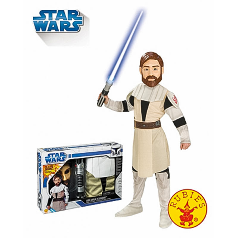 Disfarce Obi Wan com Espada em caixa Inf