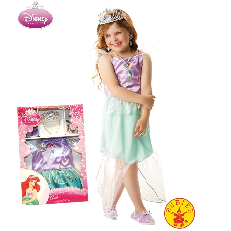 Disney Princess Disfarce Ariel Infantil