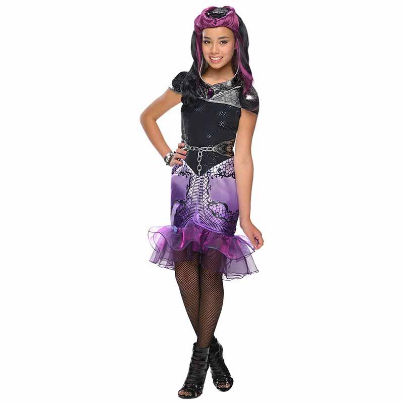Disfarce EAH Raven Queen infantil